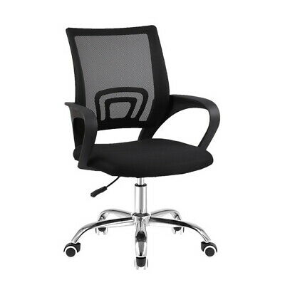 Artiss Office Chair Gaming Chair Computer Mesh Chairs Executive Mid Back Black