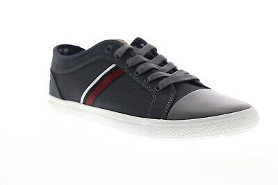 Ben Sherman Madison OX BNM00163 Mens Gray Canvas Low Top Sneakers Shoes