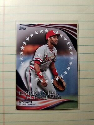 Ozzie Smith   2019 Topps Update Perennial All-Stars  #14  Cardinals