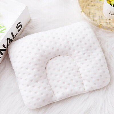 Cartoon Printed Baby Pillow Infant Soft Comfortable Cushion Prevent Flat Head B