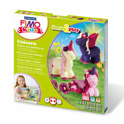 New Fimo Kids Form & Play Set Unicorn