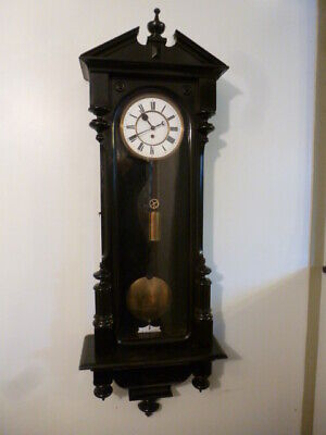 Fine Elegant Vienna regulator wall clock GWO