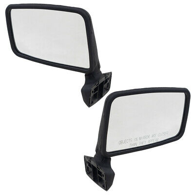 NEW RIGHT SIDE MANUAL MIRROR WITH ARM FITS 1994-2002 JEEP WRANGLER CH1321102