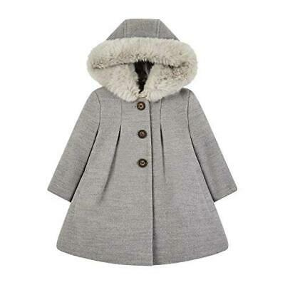 (TG. 6-9 mesi (Manufacturer Size:74)) Mothercare Flow Wool Blend Coat with Hood