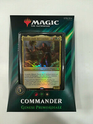 Magic The Gathering Mazzo Commander 2019 Genesi Primordiale - Nuovo