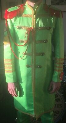 Beatles John Lennon Sgt. Peppers Suit. Superb quality tailored suit, worn twice.