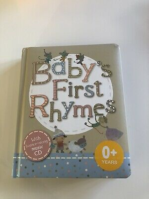 Babys First Rhymes Book & CD Marks & Spencers