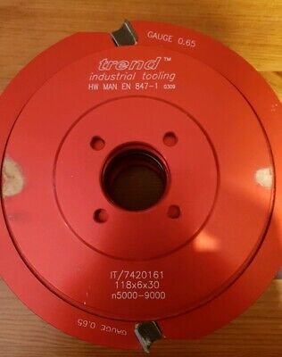 Trend Spindle Moulder Cutting Block It/7420201