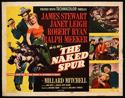 the naked spur 1953 western james stewart dvd
