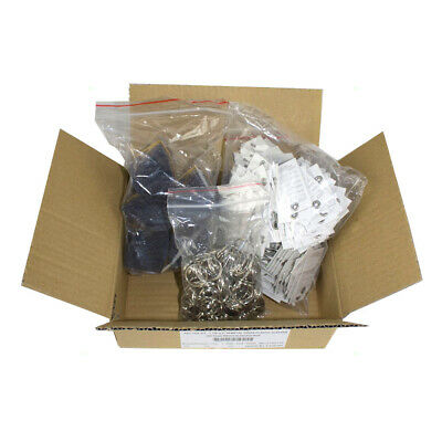 250 Key Tag Kits w/ Metal Rings, Forms & Sleeves Auto Shop Dealer Auction Rental