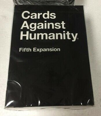 Cards Against Humanity Fifth Expansion 5th NIP New Sealed
