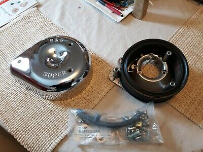 s&s super  air cleaner complete new for harley