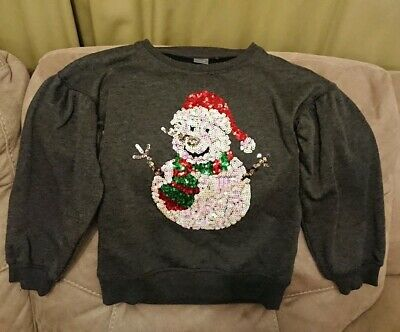 Girls Next Christmas Jumper. Age 8 Years