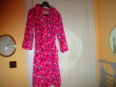 girls Monsoon hooded dressing gown to fit age 12 to 13