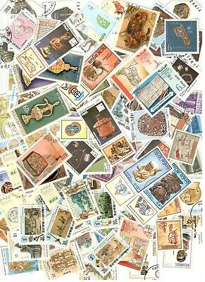 100 Antiquities & Artifacts Stamps All Different Nice Lot