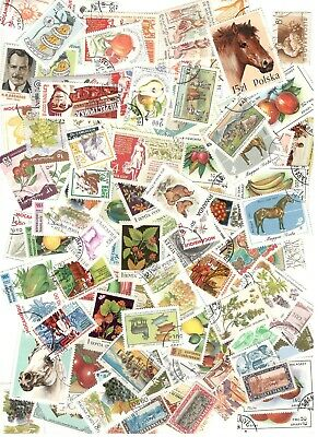 100 Agriculture Stamps All Different Nice Lot