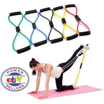Yoga Elastic Bands Exercise Glutes Fitness Resistance Band Pilates Workout Gym