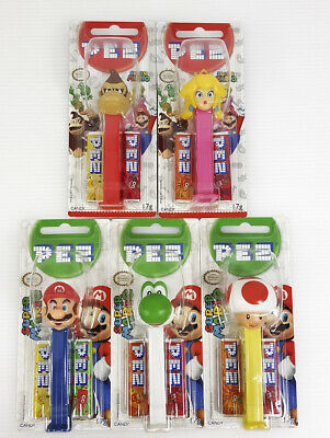 PEZ Nintendo Candy Dispenser pack of five characters Toys/Gift/Game/Brand New