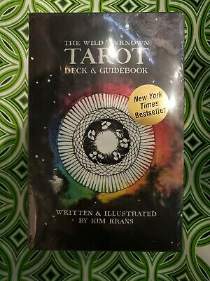The Wild Unknown Tarot Deck and Guidebook (Official Keepsake Box Set) RARE