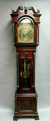 Walter Durfee Pattern 42 Two Weight Tall Case Grandfather Clock