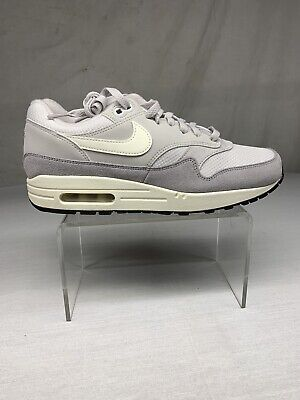 NIKE AIR MAX 1 Vast Wolf Grey Sail Sz 10 AH8145 011 Jordan