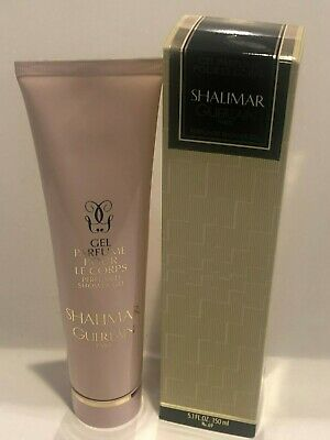 Guerlain Paris Shalimar 5.1oz Perfumed Shower Gel For Women New In Box RARE