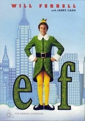 Elf DVD R4 - Will Ferrell - NEW & SEALED - FREE & FAST DELIVERY