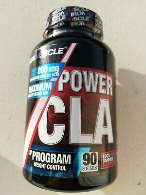 Power Cla 90Caps  Iron Muscle