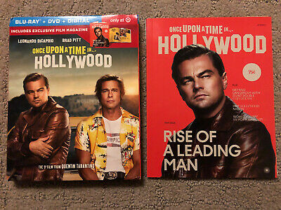 Once Upon A Time In Hollywood TARGET EXCLUSIVE Blu-ray + Book + Packaging