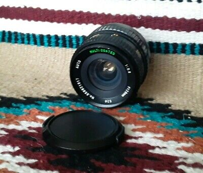 Sears Multicoated 28mm f2.8 Macro Lens For Canon FD Mount