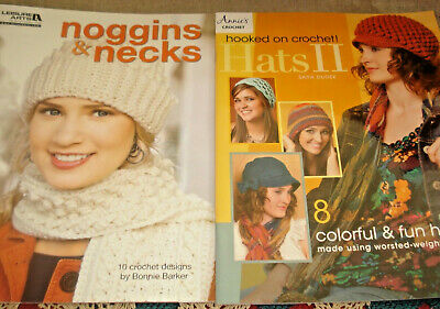 NOGGINS & NECKS and HATS II Scarves Hats Crochet Patterns Leisure Arts & Annies