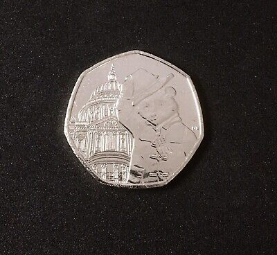 New Uncirculated Royal Mint Paddington Bear St. Paul's Cathedral 50p Coin 2019