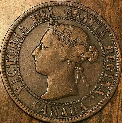1899 Canada Large Cent Penny Coin Large 1 Cent