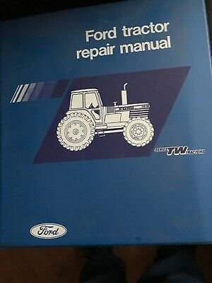 Ford Tractor Repair Manual TW Series