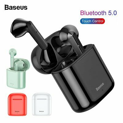 Baseus Bluetooth Headset TWS Wireless Earphones Stereo Earbuds Charging Box US