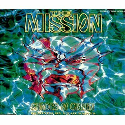 The Mission - Shades of Green - The Mission CD 6YVG The Cheap Fast Free Post The