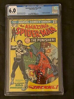 The Amazing Spider-Man #129 CGC 6.0 Certified (Feb 1974, Marvel)