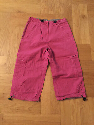 BNWT FAT FACE Boys Kids COLORADO 3/4 Length Pants Trousers RED/RASPBERRY Hiking