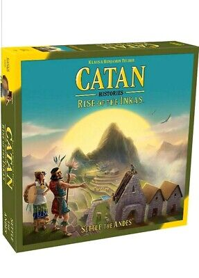 Catan: Rise Of The Inkas Board Game NEW and SEALED Strategy Adventure Puzzle NIB
