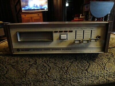 Vintage Solar Model Rc-3115B Stereo 8 Track Tape Player