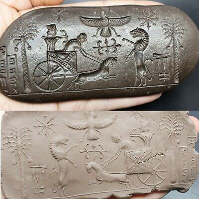 Very Beutifull Old Lime Stone  Roman History Intaglio Relif Tile 300Bc