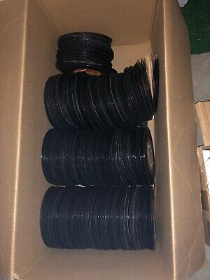 Lot Of 100 45 Rpm  Vinyl Records For Arts And Crafts