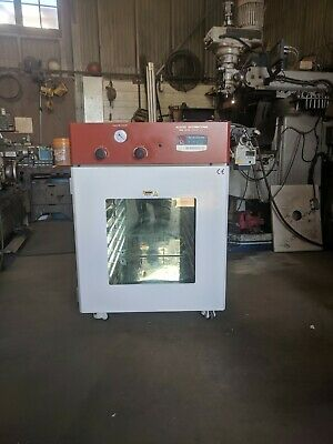 AI elite gas back fill 4.4cf 20/20/20 vacuum oven with 6 shelves