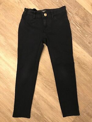 Girls Gap Navy Trousers/jeggings Age 6 Years