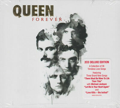 2 Cd Set Queen Forever Deluxe Edition Brand New Sealed 2014 Greatest  Hits
