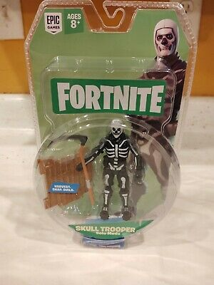 Crâne Trooper Fortnite mode Solo Core Figurine Pack