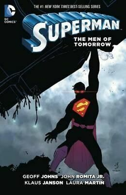 NEW Superman : The Men of Tomorrow By Geoff Johns Hardcover Free Shipping
