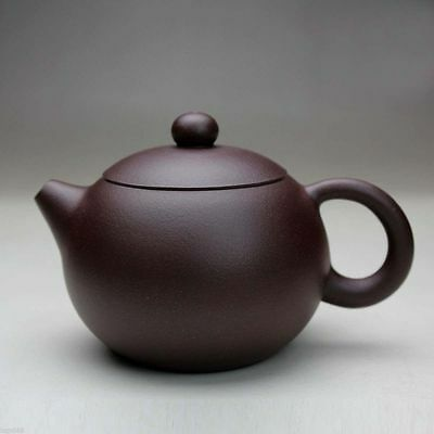 Chinese Yixing xishi handmade tea pot zisha purple clay teapot zi ni 220cc w/box