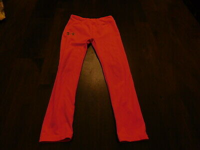 Under Armour Size 6 Hot Pink Girls Leggings
