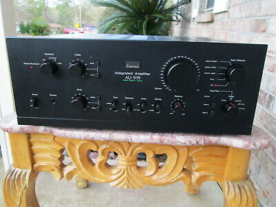 Sansui AU 919 Integrated Stereo Integrated Amplifier
